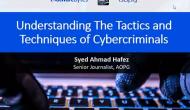 Webinar - Understanding the Tactics and Techniques of Cybercriminals
