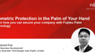 Biometric Protection In The Palm Of Your Hand - Learn How You Can Secure Your Company With Fujitsu Palm Technolog